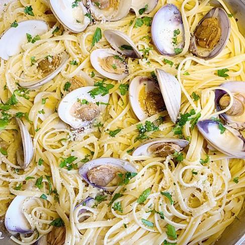Linguine Clam Pasta