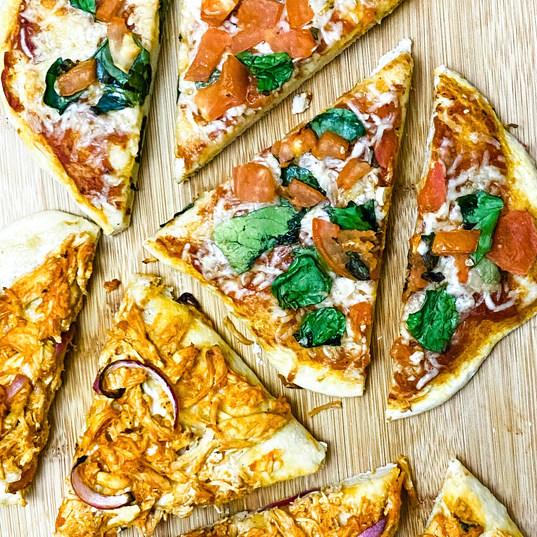 no yeast pizza dough
