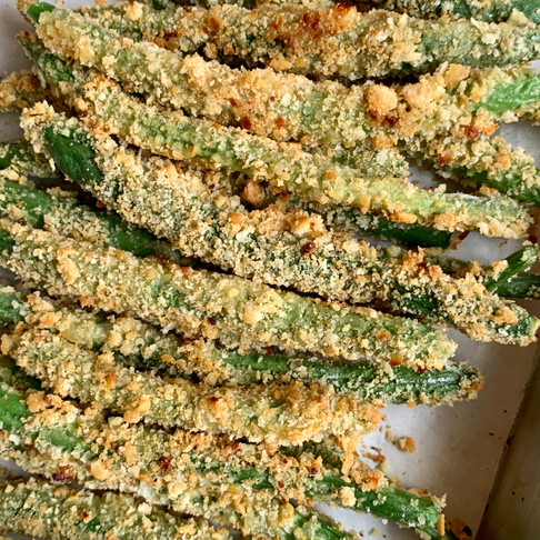 Parmesan Green Bean Fries