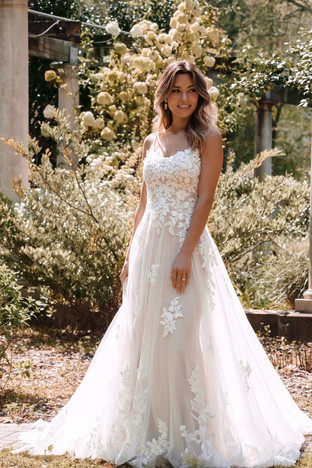 9866 by ALLURE at Mary's Bridal Utah