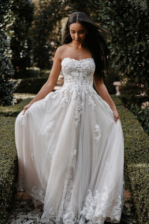 C622 by Allure Couture at Mary's Bridal Utah