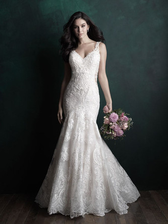 C504 by Allure Couture at Mary's Bridal Utah