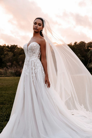 9852 by Allure Couture at Mary's Bridal Utah