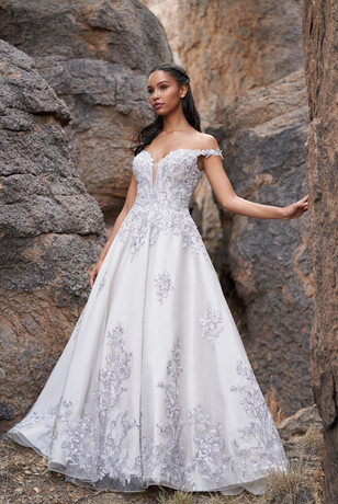 C580 by Allure Couture at Mary's Bridal Utah