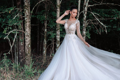 C600 by Allure Couture at Mary's Bridal Utah