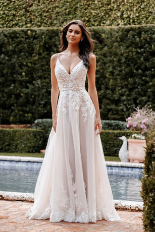 9856 by ALLURE at Mary's Bridal Utah
