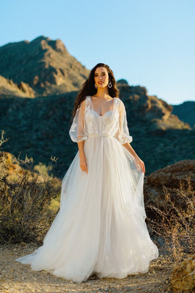 F235 by WILDERLY at Mary's Bridal Utah