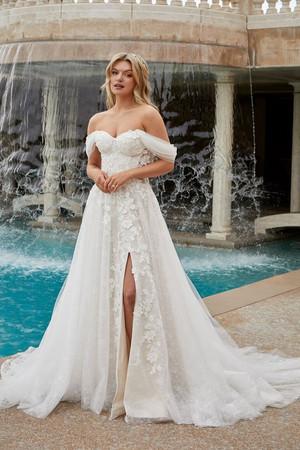 2455 by Casablanca at Mary's Bridal Utah