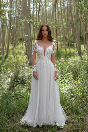 F227 Lila by WILDERLY at Mary's Bridal Utah