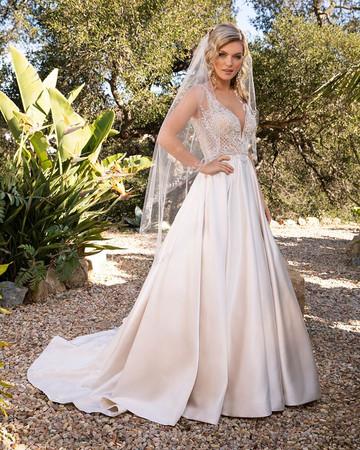 2387 by Casablanca at Mary's Bridal Utah