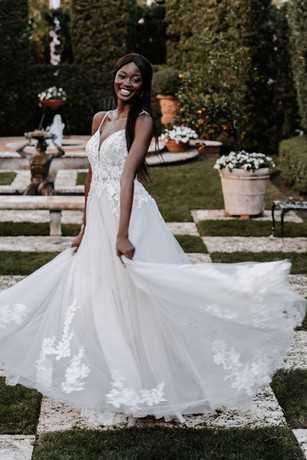 9855 by ALLURE at Mary's Bridal Utah