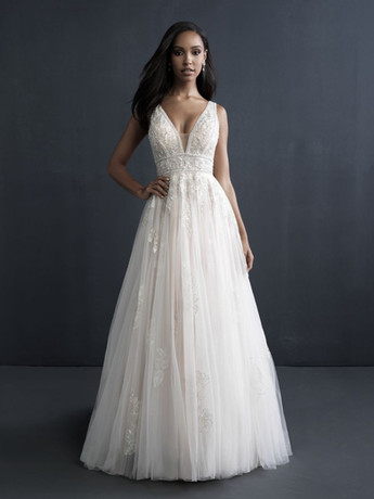 C604 by Allure Couture at Mary's Bridal Utah