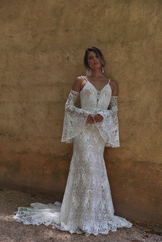 EY214 AZURE by Evie Young at Mary's Bridal Utah