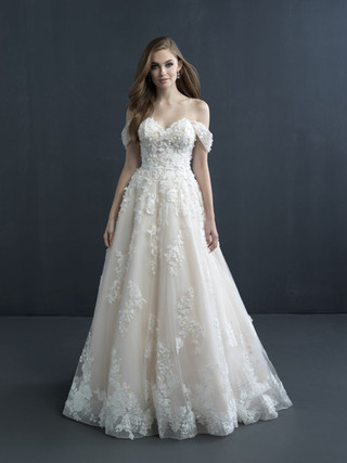 C603 by Allure Couture at Mary's Bridal Utah