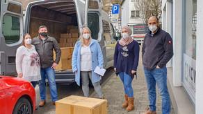 Ehemaliger Flüchtling unterstützt Hilfsgütertransport nach Syrien