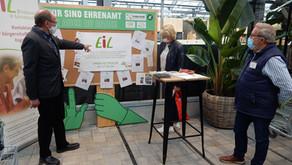 Präsentations-Plattform für Vereine: EiL und Gartencenter Kremer haben Grundstein gelegt