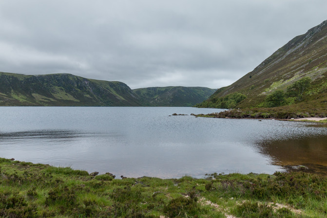 Glen Muick - the treck along the track from Glas-allt-Shiel to the end of the loch is relentless