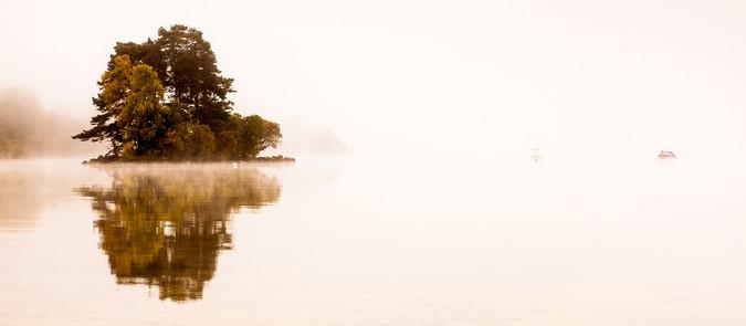 Misty Loch by Iain McLachlan