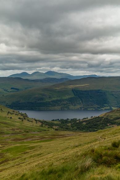 Loch Earn from Ben Vorlich