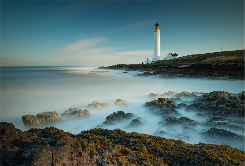 Scurdie Ness Lighthouse