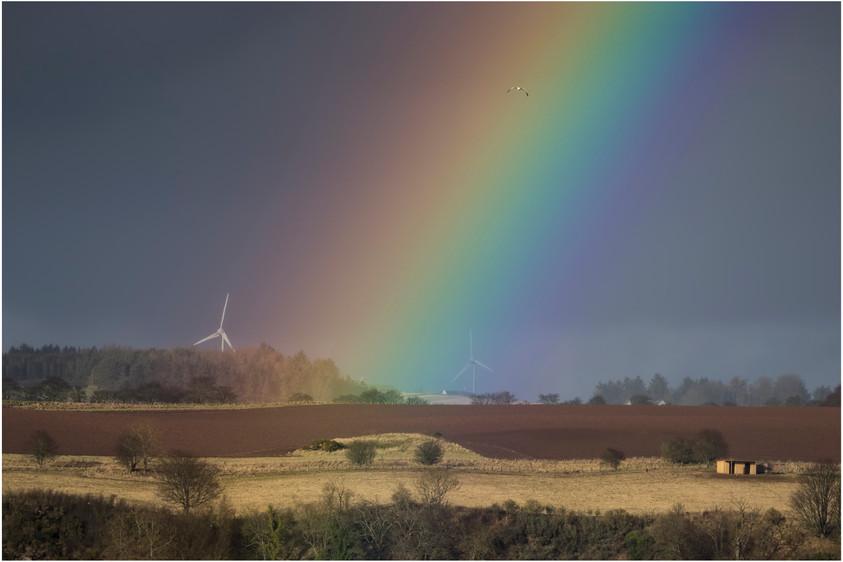 Rainbow over the Mearns