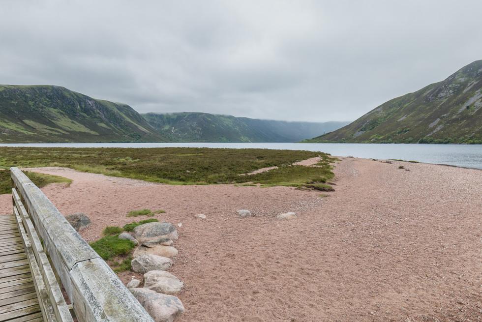 A final view of Loch Muick