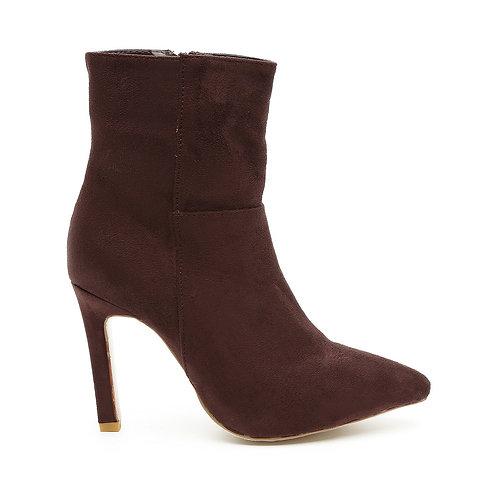 Brown Stiletto Boots Size 35