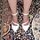 Thumbnail: White Patent Crossover Strap Stilettos Size 32-35