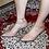 Thumbnail: Beige Patent Ankle Strap Pumps Size 32-35