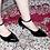 Thumbnail: Black Patent Ankle Strap Pumps Size 32-35