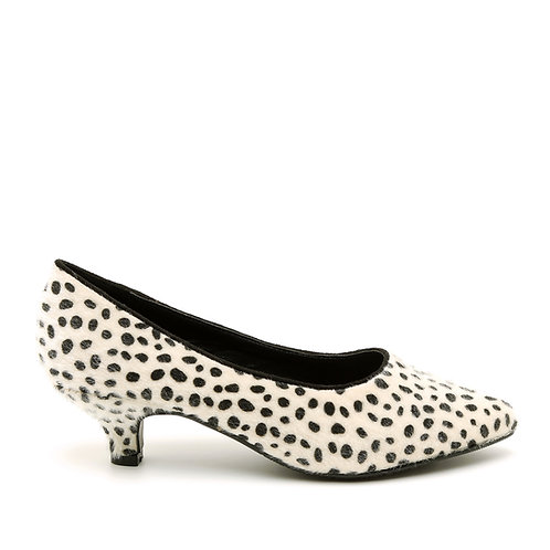 Leopard Kitten Heel Pumps Size 32-35