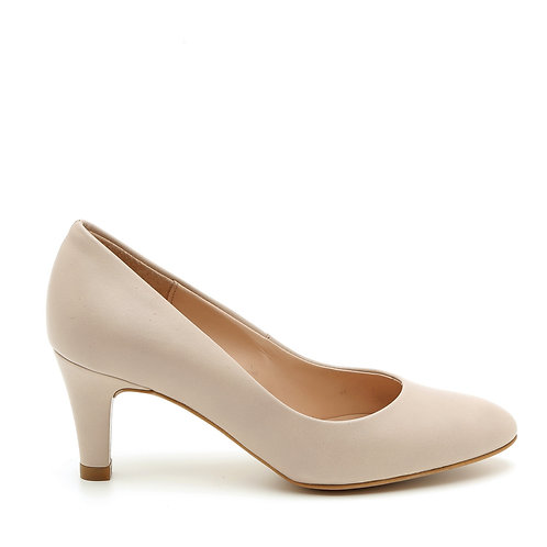 Off-White Leather 6 CM Wedding Pumps Size 33-35