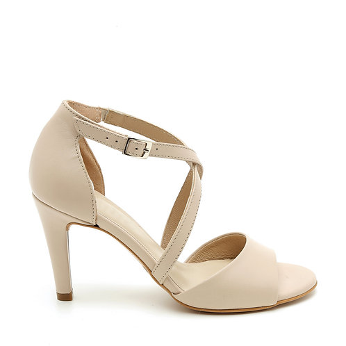 Pink-Nude Dance Style Sandals Size 33-34