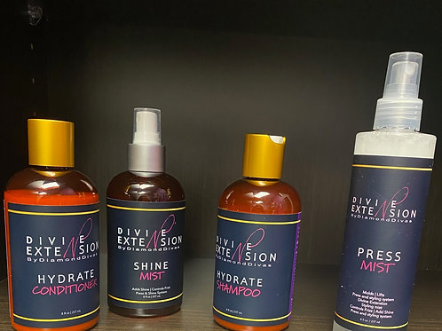 Divine Extensions Silk Press System