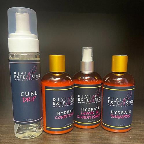 Divine Extensions Silk Press Cleansing System