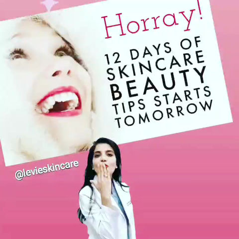 12 Days of Beauty Tips for healthy skin