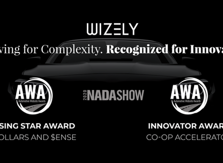 Wizely Wins at NADA: Automotive Website Awards Honor Innovation