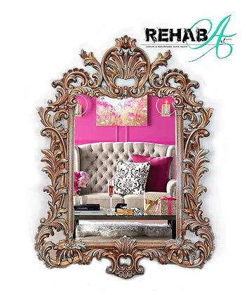 Copper Kettle Ornate Mirror