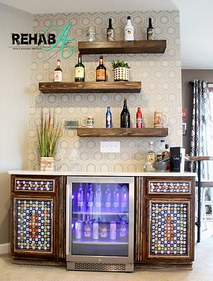 bottlecap beverage center cropped front