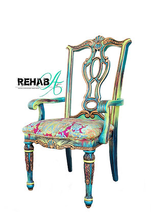 """""""The Royal Sheraton"""" Accent Chair"""
