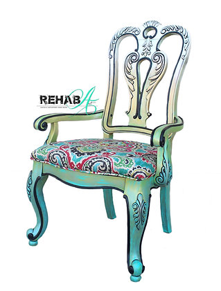 "The ""Candy Creme Brulee"" Accent Chair"