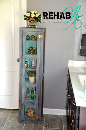 """""""Unforgetable"""" Upcycled Antique Pie Safe"""