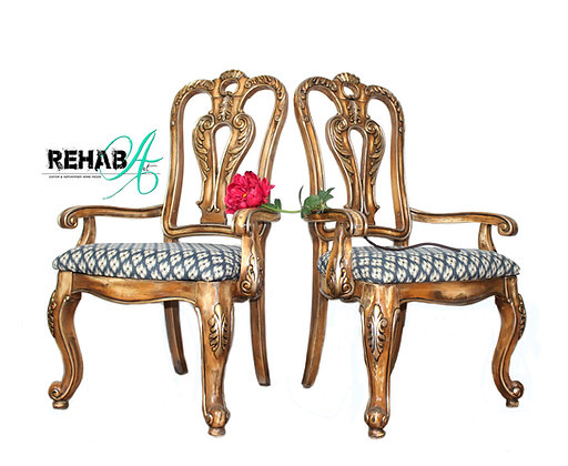 """""""Rawlings"""" Set of 2 Parlor Chairs"""