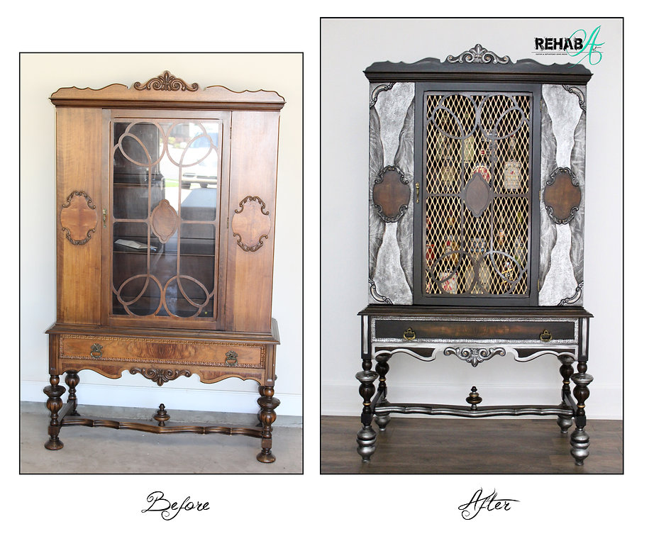 The Gentleman's Cabinet Before and After
