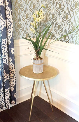 """Olympic Gold"" Accent Table"