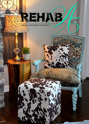 """Ornate Frosty"" Parlor Accent Chair"