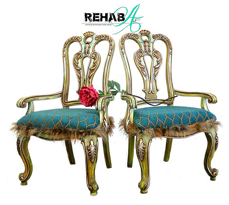 The Griffin Parlor Chairs