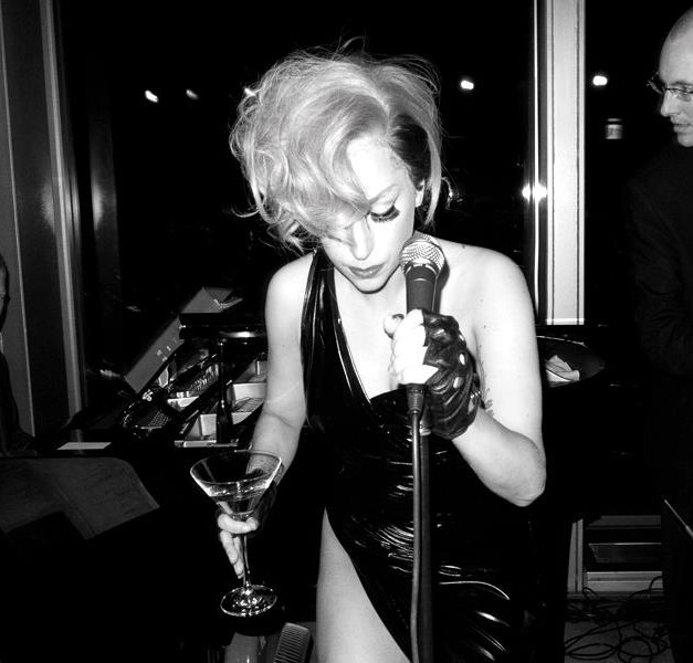 w/Lady Gaga at New York Bar
