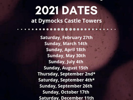 More dates are announced for 2021 author signing tour!