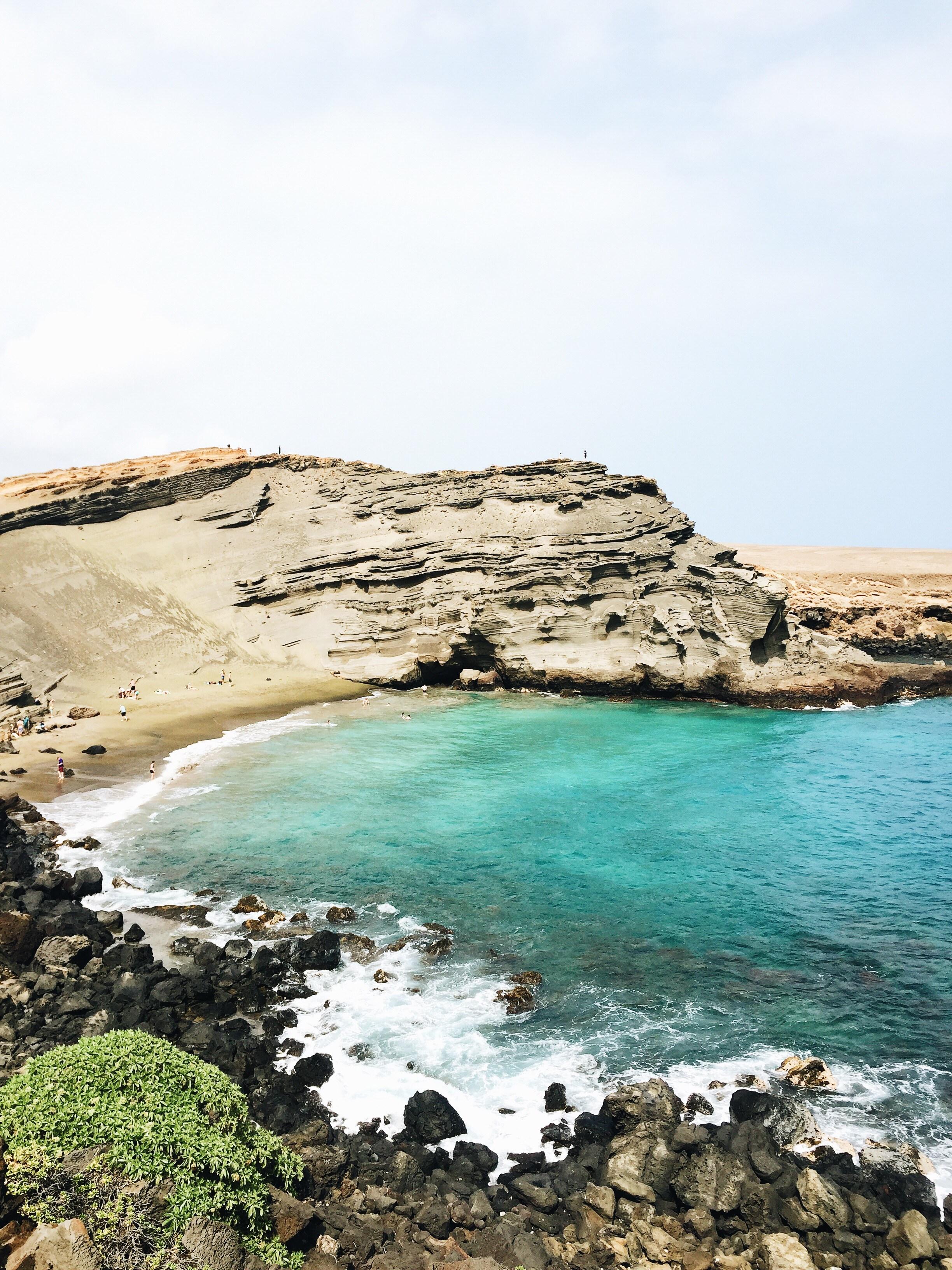 Elanaloo Travel Blogger - Green Sand Beach
